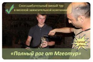 Купить винный тур в грузию