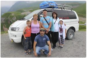 Семейный отдых в Грузии