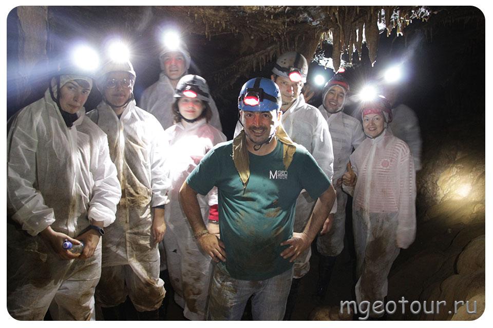 тур в пещеры Грузии